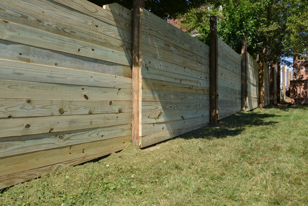 how to build a fence crafting a custom look with. Black Bedroom Furniture Sets. Home Design Ideas