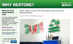 Habitat Theresa MyFixitUplife desk green Krylon
