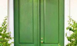 1 green apple doorway modern