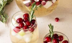 Christmas Sangria by Cake 'n Knife