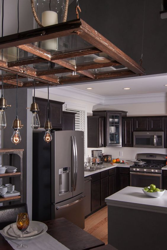 This Year S Trend In Kitchen Colors Is Black The New