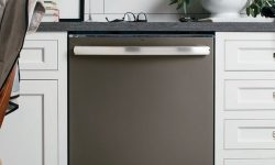 Black slate dishwasher is a elevated look for the black options in appliances.