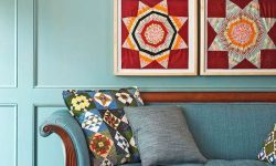 4 wall art Quilted HossDesign MyFixitUpLife