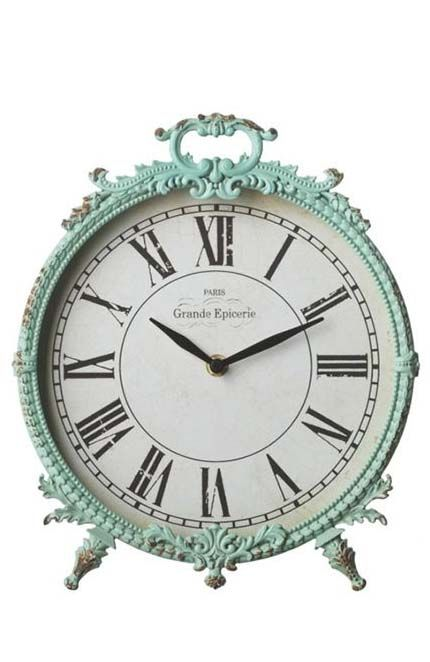 vintage clock mint
