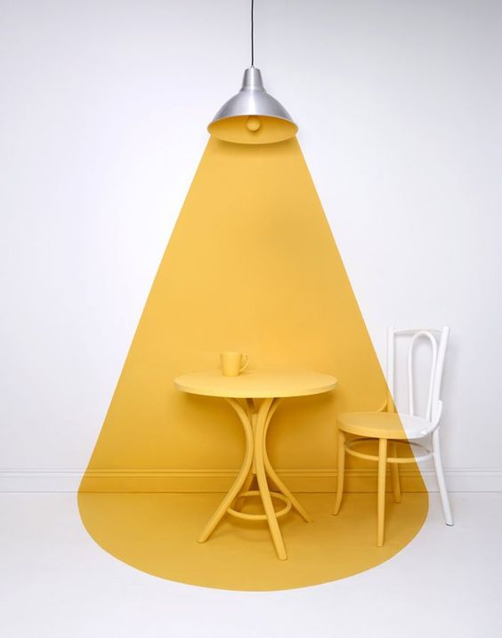 Sarah Parker yellow table