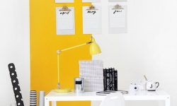 yellow workspace MyFixitUpLife