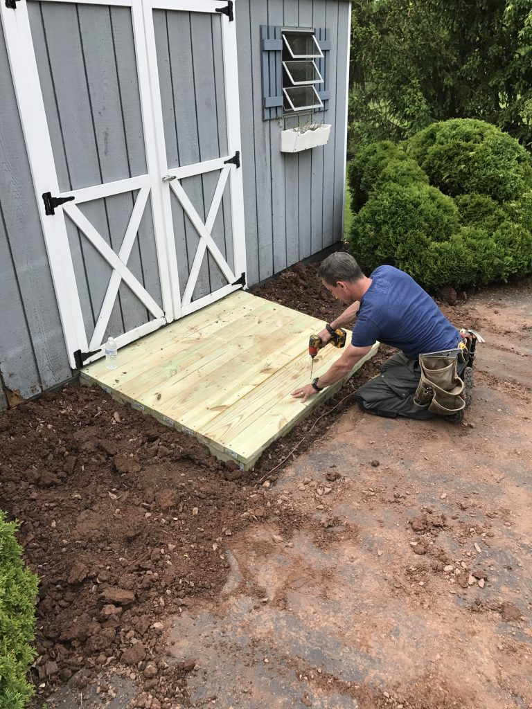 Weekend Diy Projects You Can Totally Do How To Make A Shed Ramp