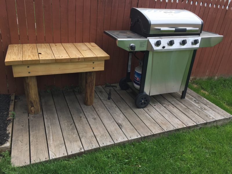 How To Build A Table: Add A Feature To Your Grill, Deck, Or Outdoor Space