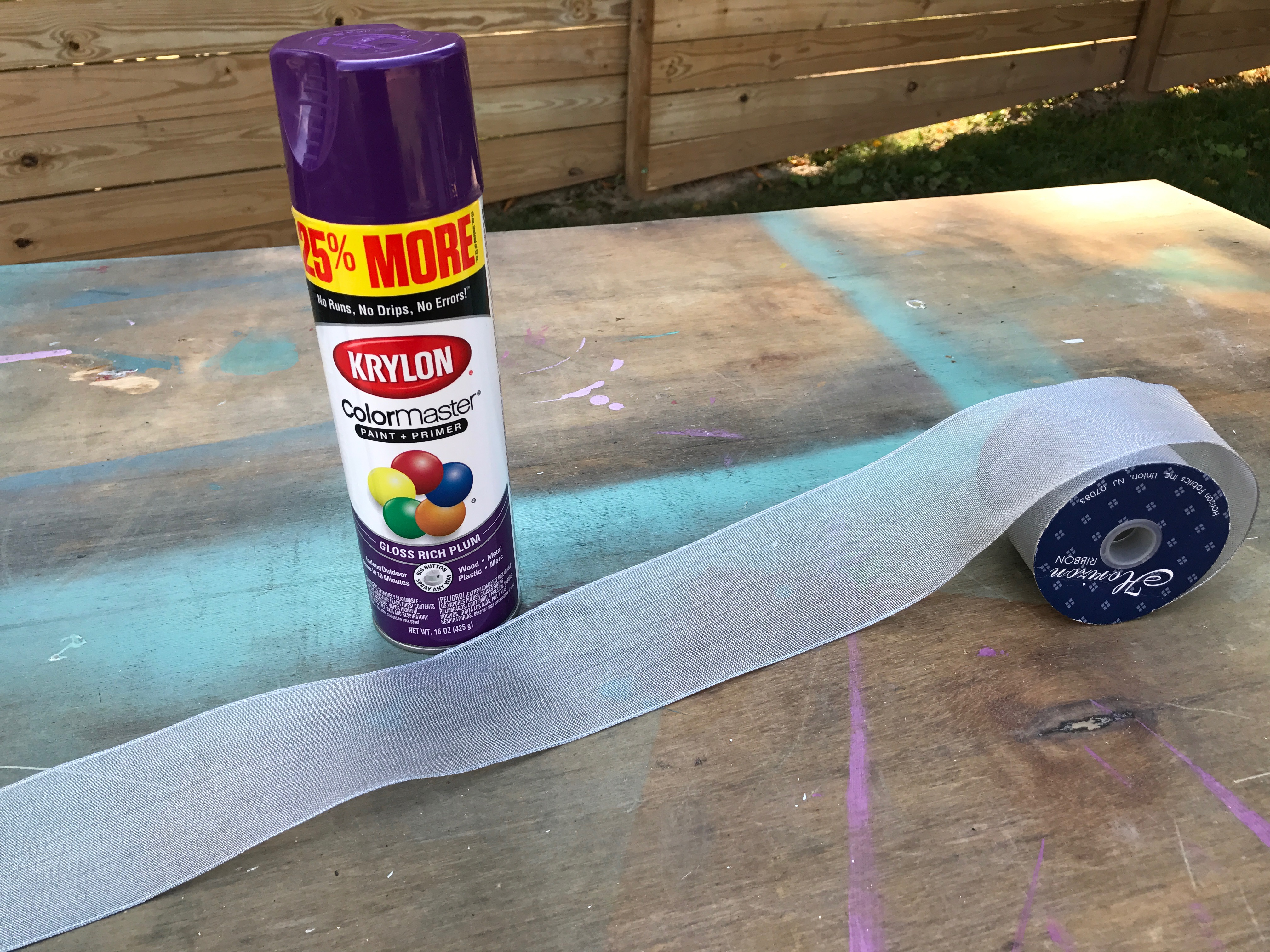 7 Clement_Krylon_suppliesMyFixitUpLife_ Halloween paint ribbon