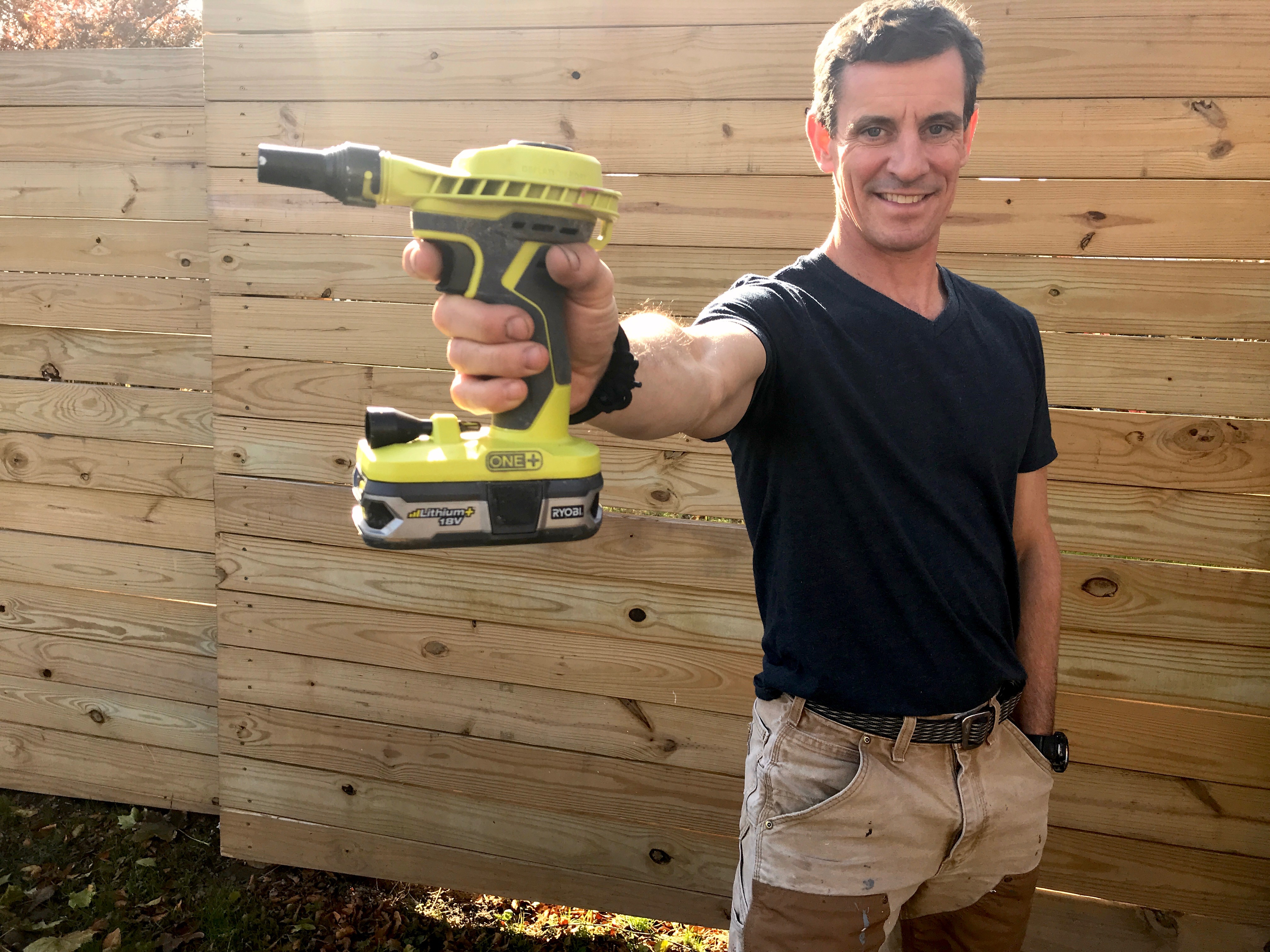 TOOLS WE USE: MyFixitUpLife's Mark reviews the Ryobi 18-volts inflator/deflator