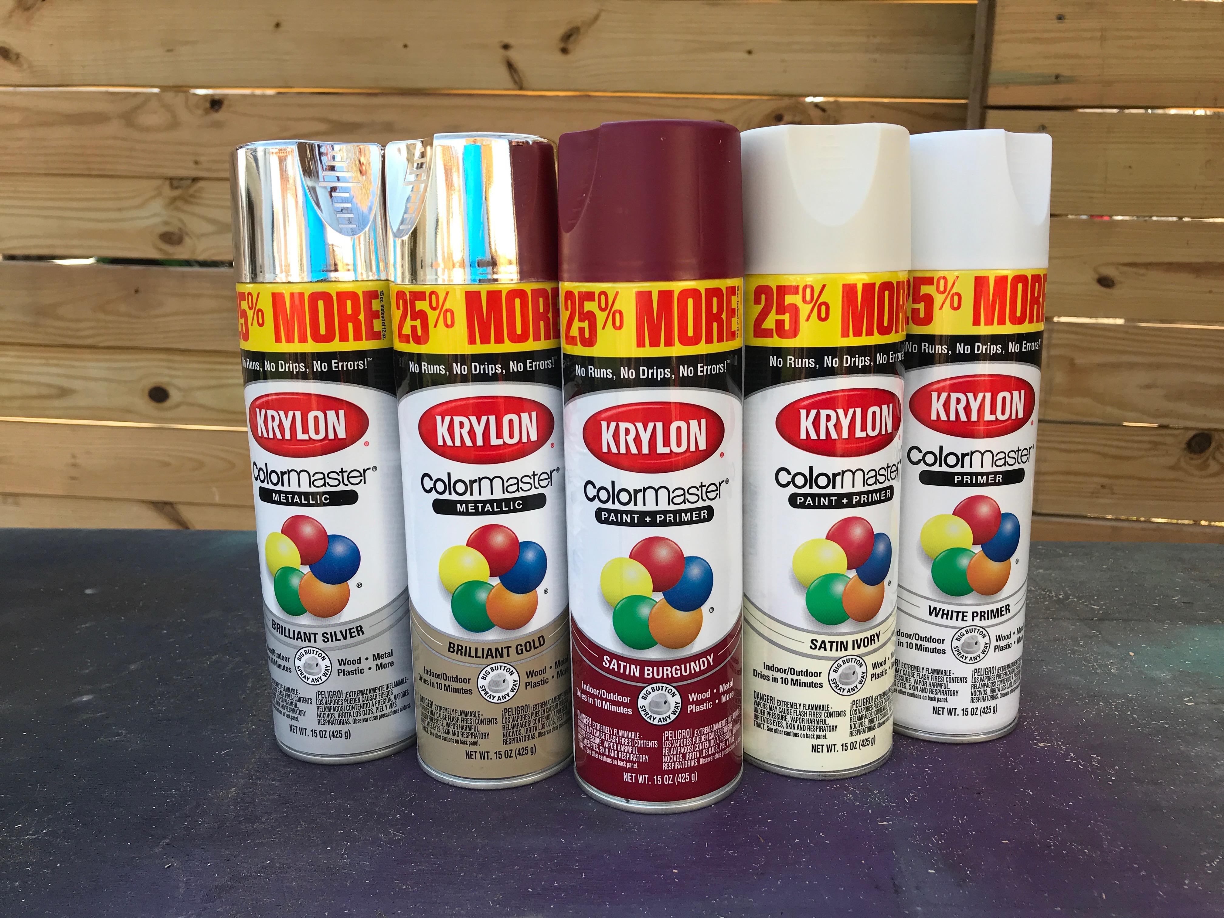 3 MyFixitUpLife Krylon Pallet December Holiday Snowflake Pallet DIY paint colors