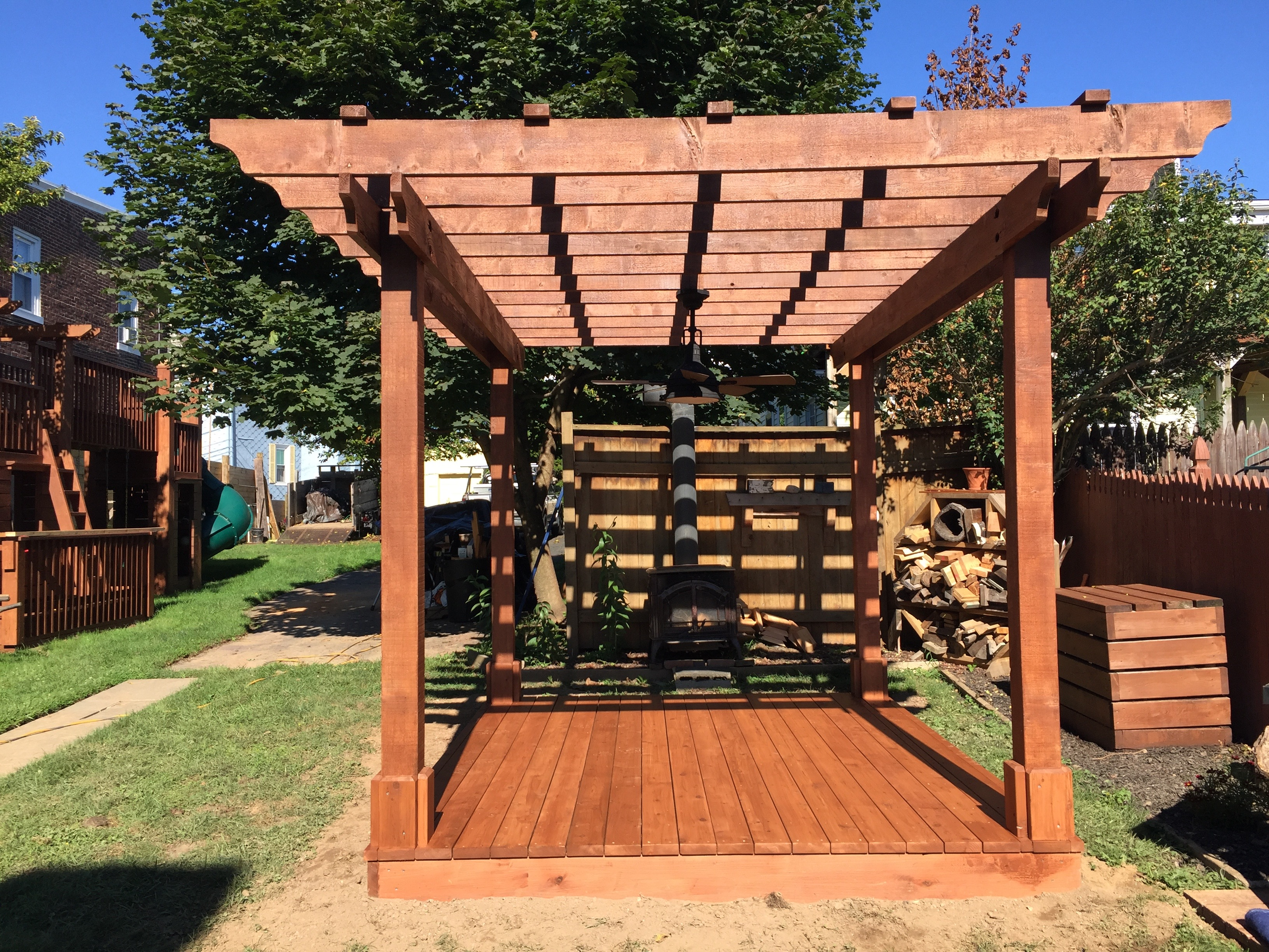 how to build a pergola videos