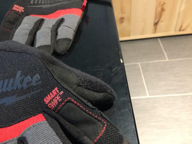 Tool Review: Milwaukee Tools SmartSwipe work gloves