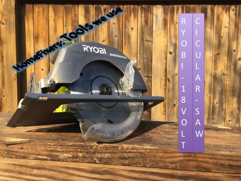 A little ringy dingy great for diy review of ryobis one circ saw the ryobi 18 volt one circular saw is 7 14 inches of getting diy done keyboard keysfo Choice Image