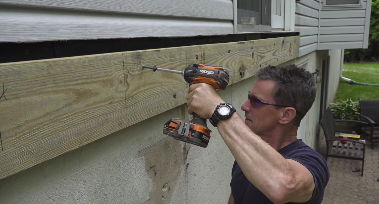 Video How To Build A Deck Attaching The Ledger Board